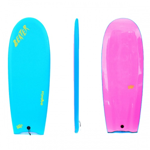 Catch Surf Beater Finless (Cyan/Pink) Surfboard
