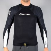 Xcel Mens 2mm Axis Long Sleeved Top (Black)
