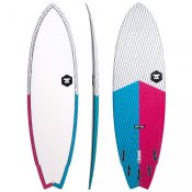 7S Super Fish 3 Carbon Vector (Blue/Red) Surfboard