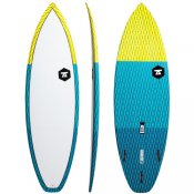 7S Salt Shaker Carbon Vector (Yellow) Surfboard