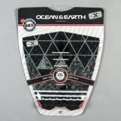 Ocean & Earth Grid Tailpad (Black/Grey)