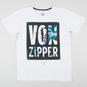 Vonzipper Scatter Brain T-shirt (White)