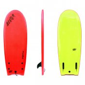 Catch Surf Beater Twin Fin (Red/Yellow)