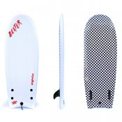 Catch Surf Beater Twin Fin (White/Check)