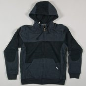 Billabong Modify Zip Hoodie (Black Heather)