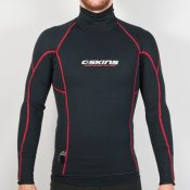 C-Skins 0.5mm Hot Wired Long Sleeve Vest (Black)