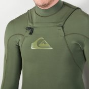 Quiksilver Mens 3mm Ignite Monochrome (Green) Wetsuit