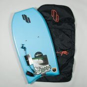 Hydro Z-Board, Bag & Leash Package (Blue)