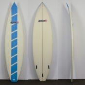 BatonR Shortboard (Blue Dash)