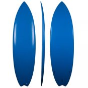 Eps Swallow Shortboard (Royal Blue)