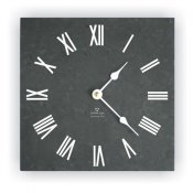 Ashortwalk Recycled Traditional Wall Clock (Black)